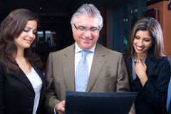 Smart business people Stock Images