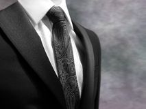 Smart business suit. A smart looking business suit with a blurred background Royalty Free Stock Images
