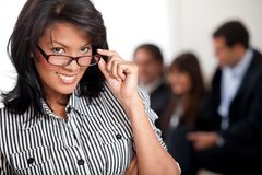 Smart business woman Stock Photography