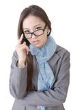Smart business woman Royalty Free Stock Photo