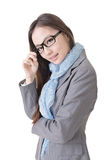 Smart business woman Royalty Free Stock Photos