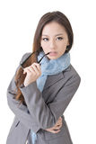 Smart business woman Stock Image