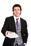Smart businessman Stock Photos