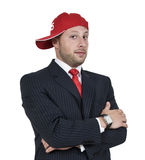 Smart businessman Royalty Free Stock Photos