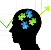 Smart businessman vector illustration
