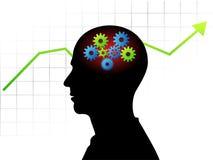 Smart businessman Stock Image