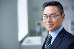 Smart businessman Stock Photography