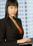 Smart Businesswoman royalty free stock photography