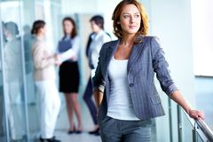 Smart businesswoman Royalty Free Stock Images