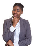 Smart businesswoman from Africa Royalty Free Stock Photos