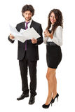 Smart businesswoman Stock Photos