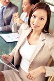 Smart businesswoman Stock Photos