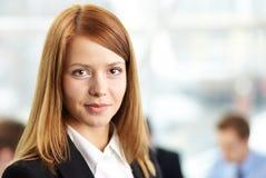 Smart businesswoman Stock Images