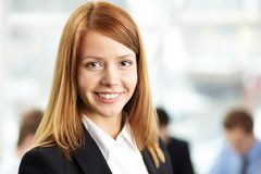 Smart businesswoman Stock Images