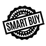 Smart Buy rubber stamp. Grunge design with dust scratches. Effects can be easily removed for a clean, crisp look. Color is easily changed Royalty Free Stock Photo