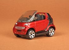 Smart Cabrio Royalty Free Stock Images