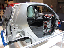 Smart Car Frame Royalty Free Stock Photography