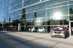 Smart Car, Mercedes Benz Munich royalty free stock photos
