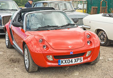 Smart car at the  National Rally in Inverness. Stock Image