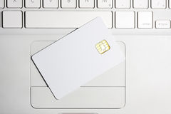 Smart card. Stock Images