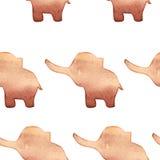 Smart card con un elefante Immagini Stock Libere da Diritti