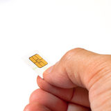 Smart card Royalty Free Stock Photo