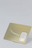 Smart card su fondo bianco Fotografie Stock
