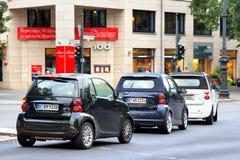 Smart cars Stock Photo