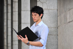 Smart Casual Looking Asian Man Royalty Free Stock Photo