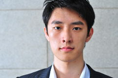 Smart Casual Looking Asian Man stock image