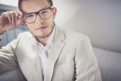 Smart casual style Royalty Free Stock Image