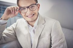 Smart casual style Royalty Free Stock Photo