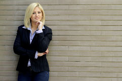 Smart casual woman portrait Stock Image