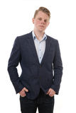Smart casual young man Stock Photos