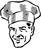 Smart Chef Royalty Free Stock Photography