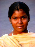 Smart Child. A smart Indian poor girl Stock Photography