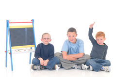 Smart children Stock Images