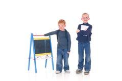 Smart children Stock Images