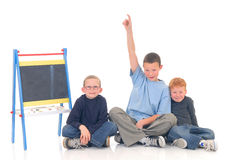 Smart children Royalty Free Stock Photography