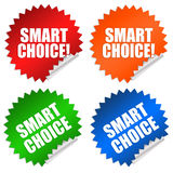 Smart choice Stock Photo