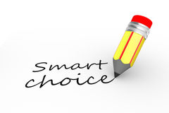 Smart choice Stock Images