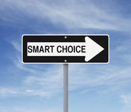 Smart Choice This Way Royalty Free Stock Image