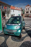 Smart City-Coupé. Parked in Smart Times 2014 event in cascais portugal http://www.smarttimes14.com Stock Photography