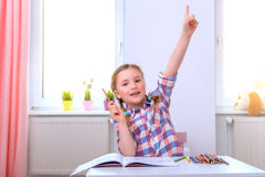 Smart clever children Royalty Free Stock Photography