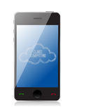 Smart Cloud computing technology concept Royalty Free Stock Photo