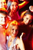 Smart clubbers Royalty Free Stock Photos