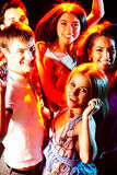 Smart clubbers Royalty Free Stock Images