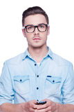 Smart and confident. Stock Photography