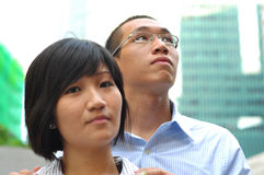 Smart Corporate Executive Couple Royalty Free Stock Images