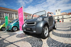 Smart Crosstown prototype. Parked in Smart Times 2014 event in cascais portugal http://www.smarttimes14.com Stock Image